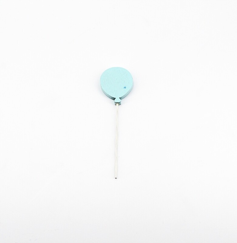 Applicazione set 12 palloncini celeste Pz.1