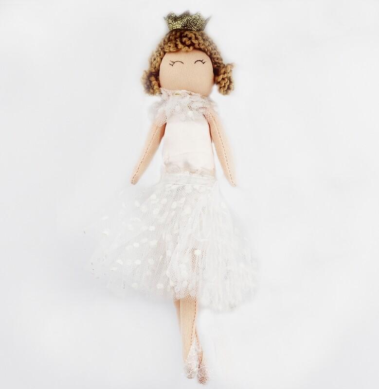 Principessa con tulle bambola Pz.1