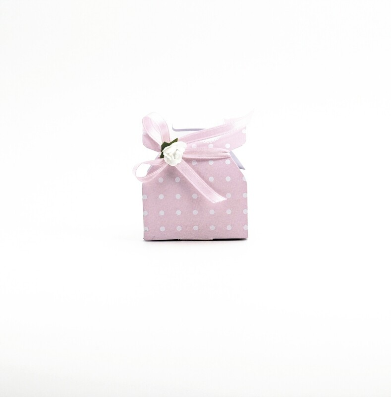 Scatolo vestitino bimba rosa Pz.10