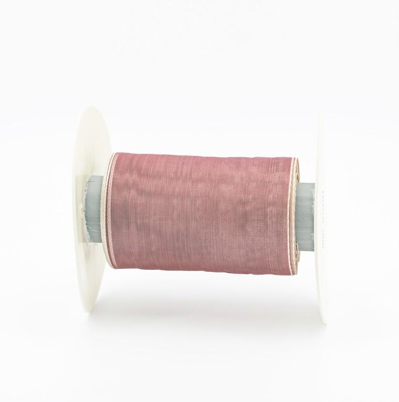 Nastro velo organza rosa 900 mm.95 Mt.13