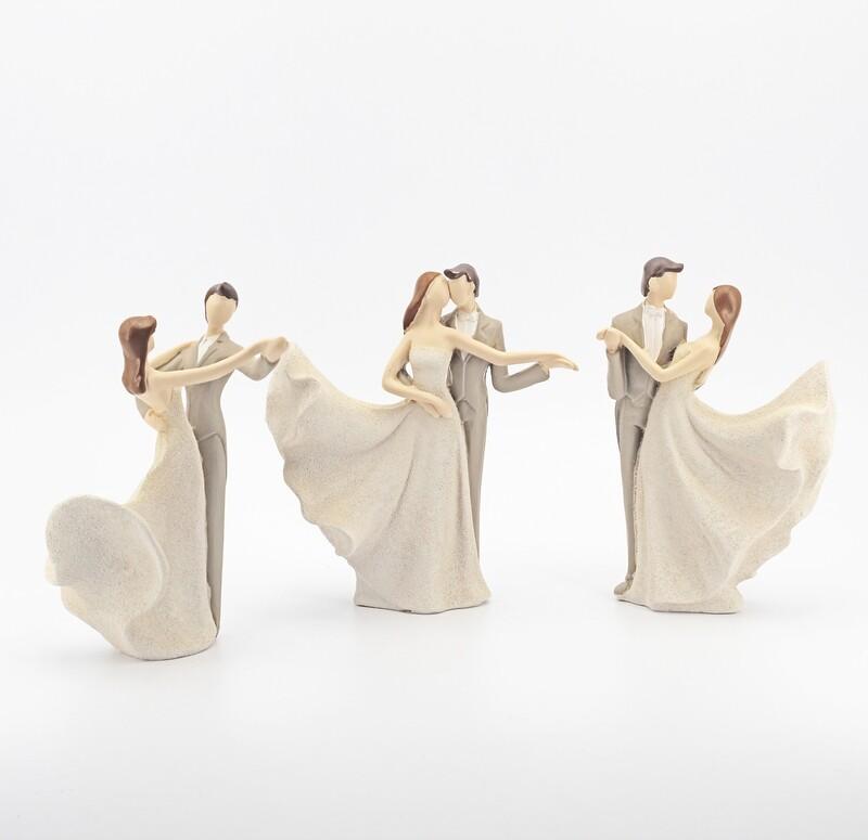 Bomboniera coppia sposi dancing Pz. 3
