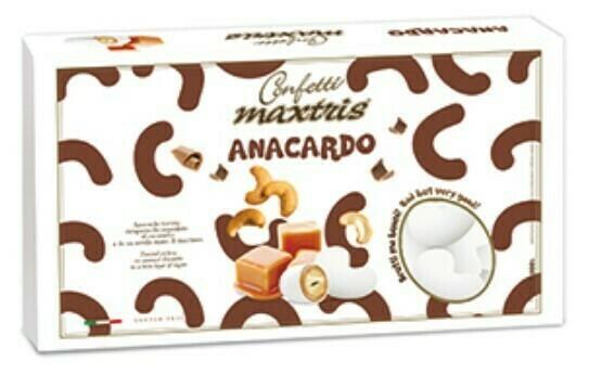 Maxtris Anacardo con cioccolato al caramello Pz. 1