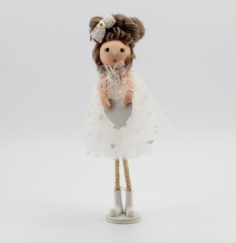 Bambola pon - pon alzata Pz. 1