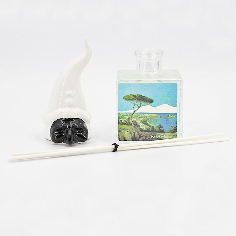 Bomboniera *prodotto artigianale* profumatore con maschera pulcinella Pz. 1