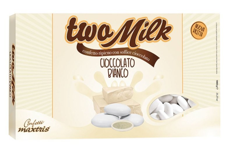 Maxtris Two Milk Cioccolato Bianco
