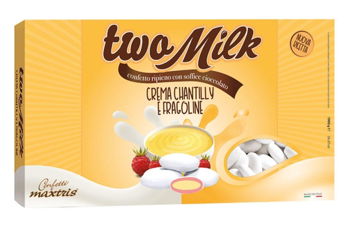 Two Milk Crema Chantilly E Fragoline