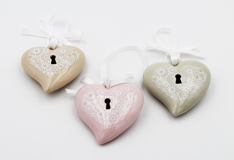 Magneti cuore confezione 12 pezzi