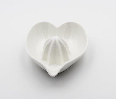 Bomboniera in ceramica spremiagrumi cuore Pz. 1