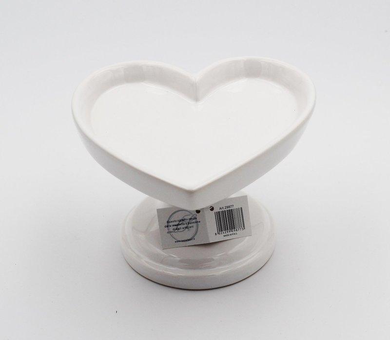 Bomboniera alzatina cuore Pz.1