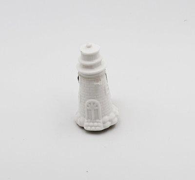 Bomboniera in porcellana opaca faro led mini Pz.1