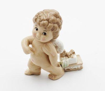Bomboniera Ilary Queen angelo con regali Pz.1