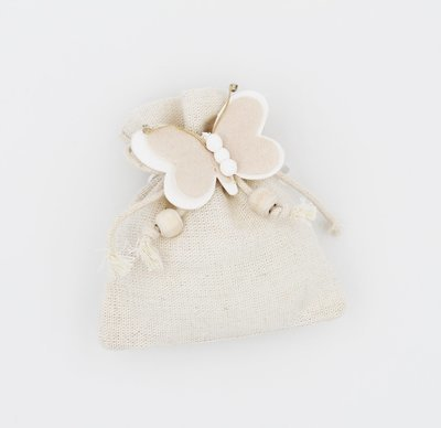 Sacchetto con farfalla confezione da 12 pezzi