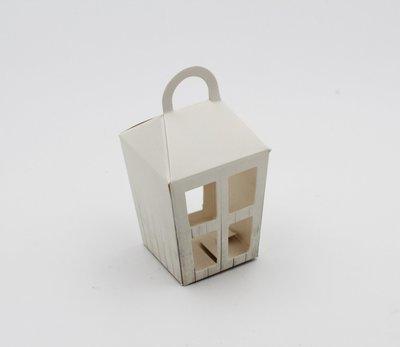 Scatolo lanterna piccolo shabby confezioni da pz. 20