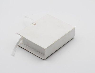 Scatolo book lino bianco confezioni da pz. 25