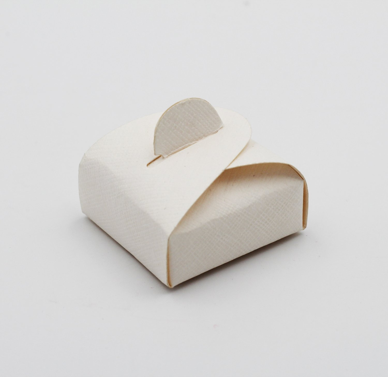 Scatolo mini astuccio seta bianco confezioni da pz. 10