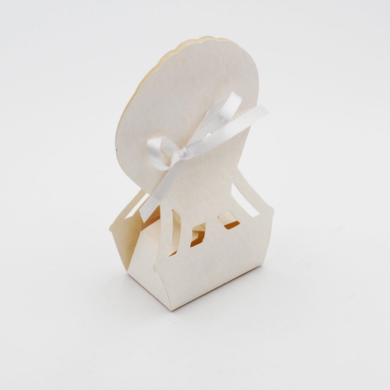 Scatolo mongolfiera matalassè bianco confezioni da pz. 10