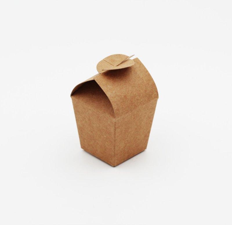 Scatolo cup avana confezioni da pz. 10