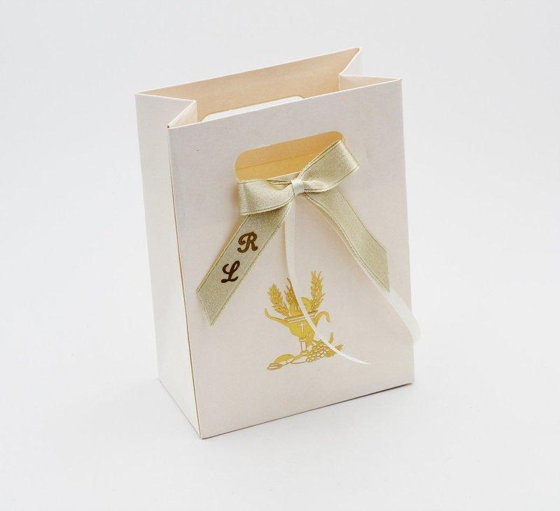 Scatolo shopper box signum oro confezioni da pz. 10