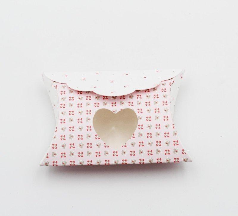 Scatolo busta bloom rosa con cuore Pz. 10