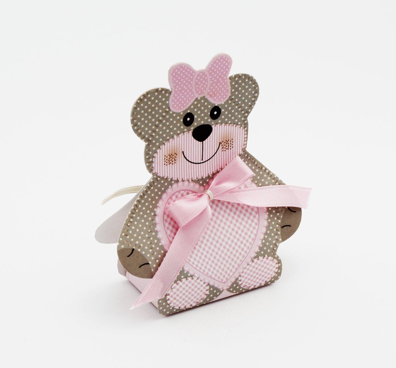 Scatolo orsetto ted bear confezioni da pz. 10