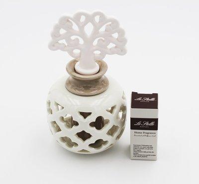 Bomboniera in porcellana profumatore bianco Pz.1