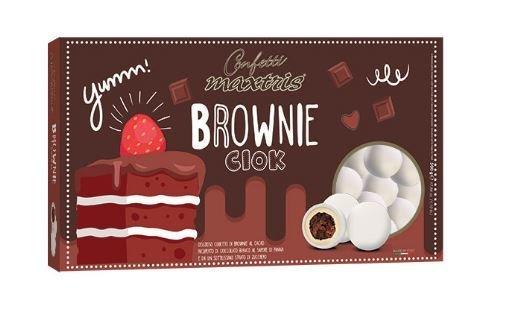Maxtris Brownie ciok bianchi