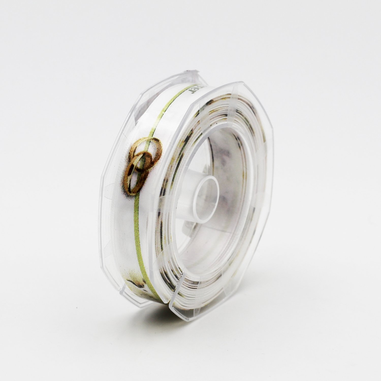 Nastro raso anelli sposi mm.16