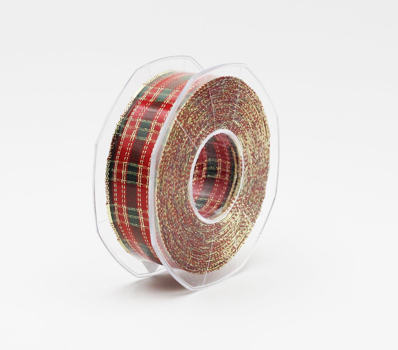 Nastro scozzese lurex mm.30