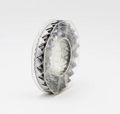 Furlanis nastro cuoricini imbottiti argento colore 101 Mt. 5