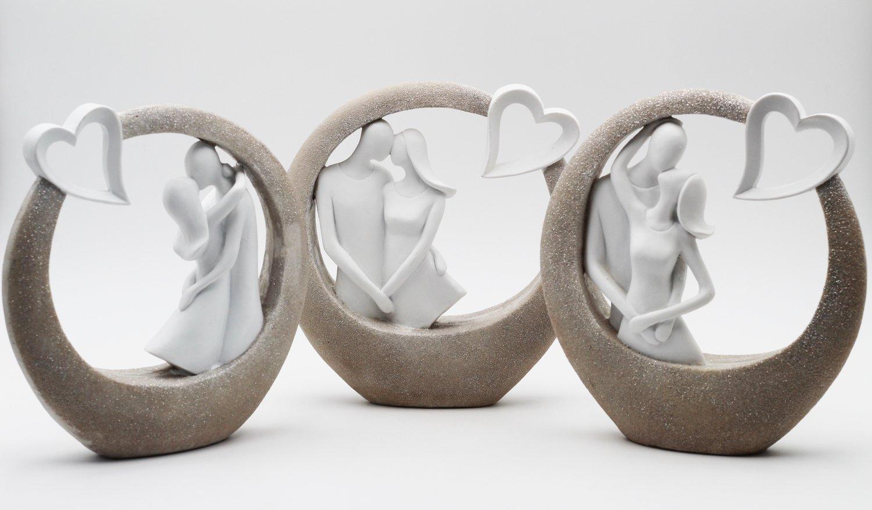 Bomboniera in resina collezione kiss  Pz.3
