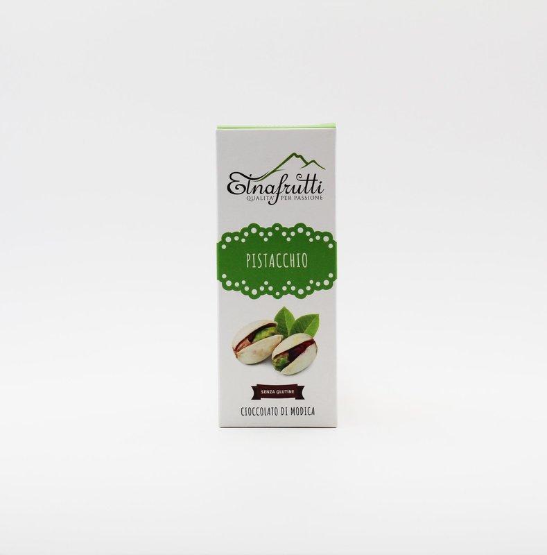 Cioccolato di modica senza glutine al pistacchio