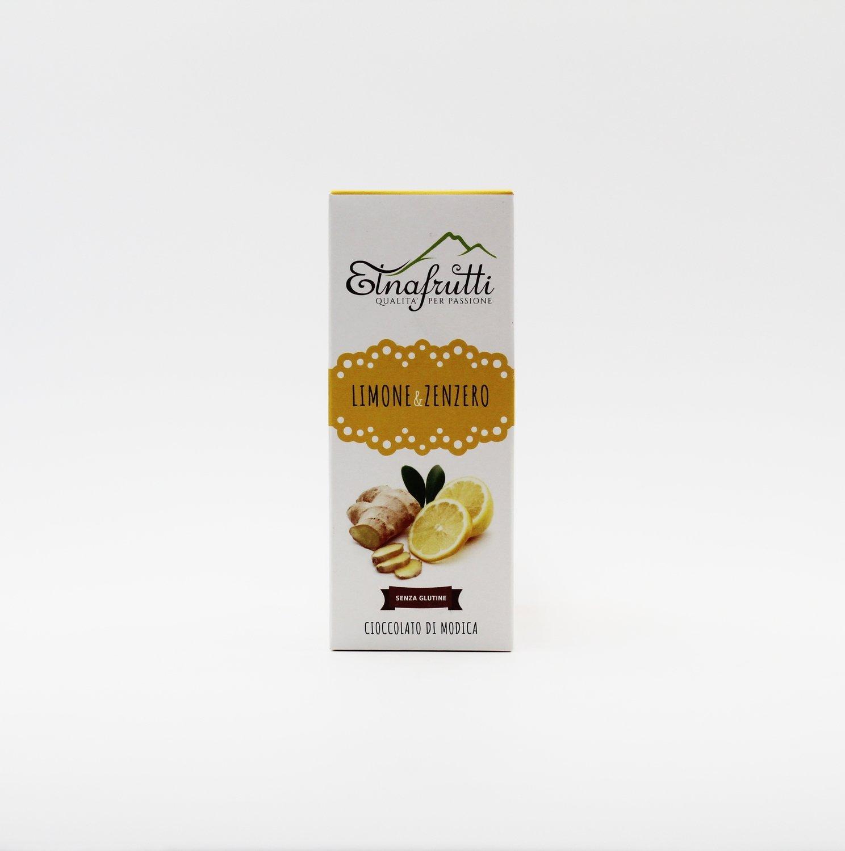 Cioccolato di modica senza glutine limone e zenzero