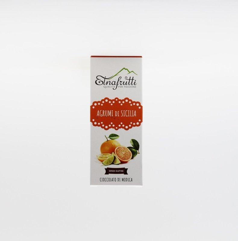 Cioccolato di modica senza glutine agrumi di sicilia