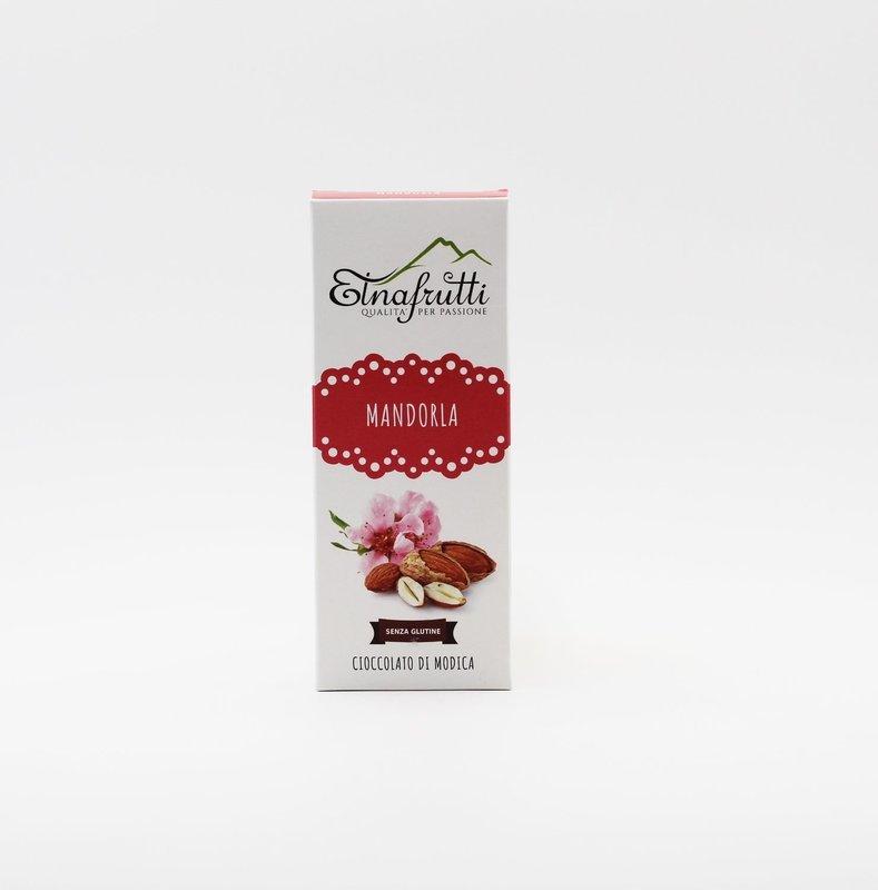 Cioccolato di modica senza glutine alla mandorla