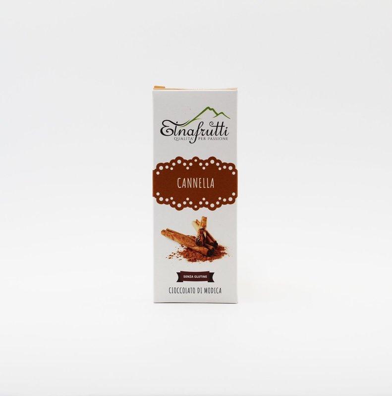 Cioccolato di modica senza glutine alla cannella
