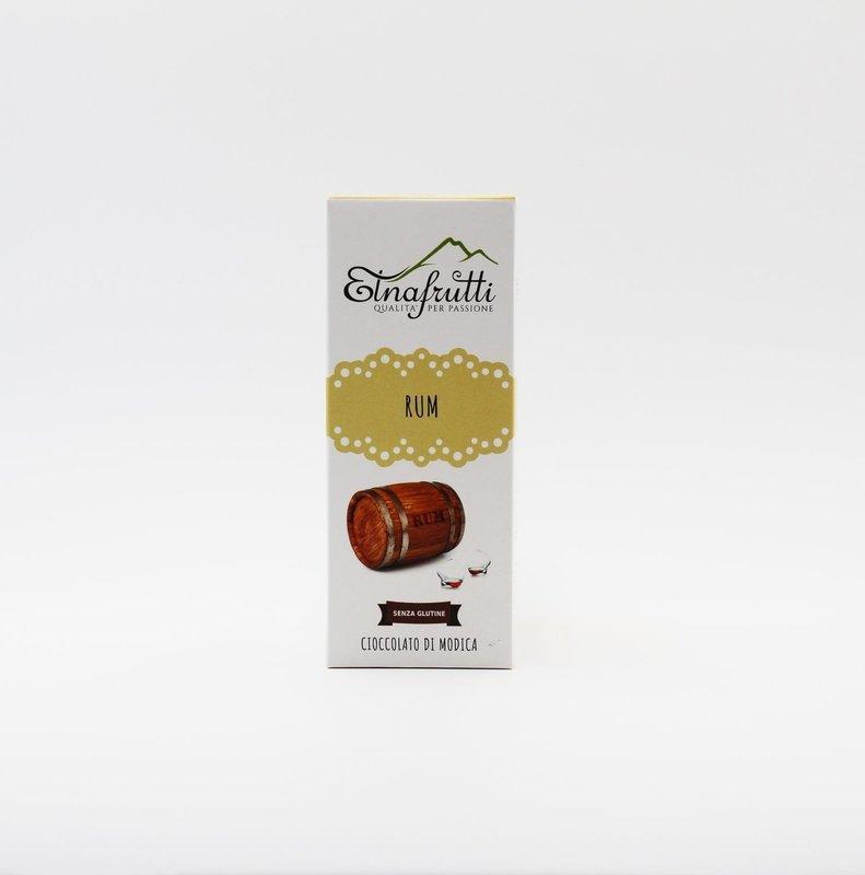 Cioccolato di modica senza glutine al rum