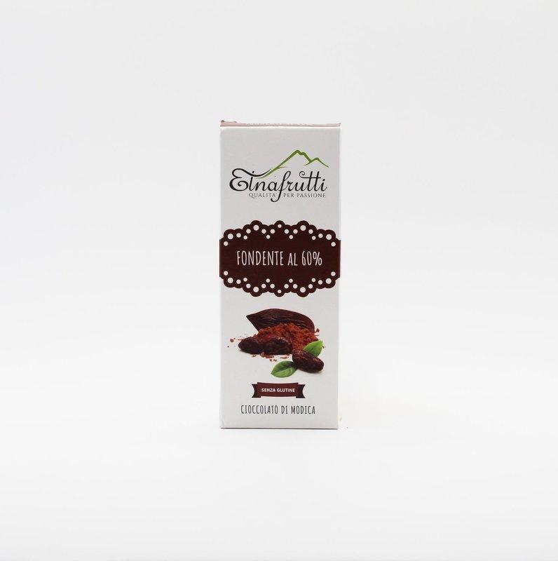 Cioccolato di modica senza glutine fondente al 60%