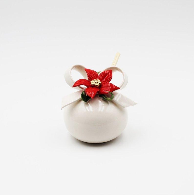 Bomboniera pacco regalo manzoni tondo  *prodotto artigianale *Pz.1