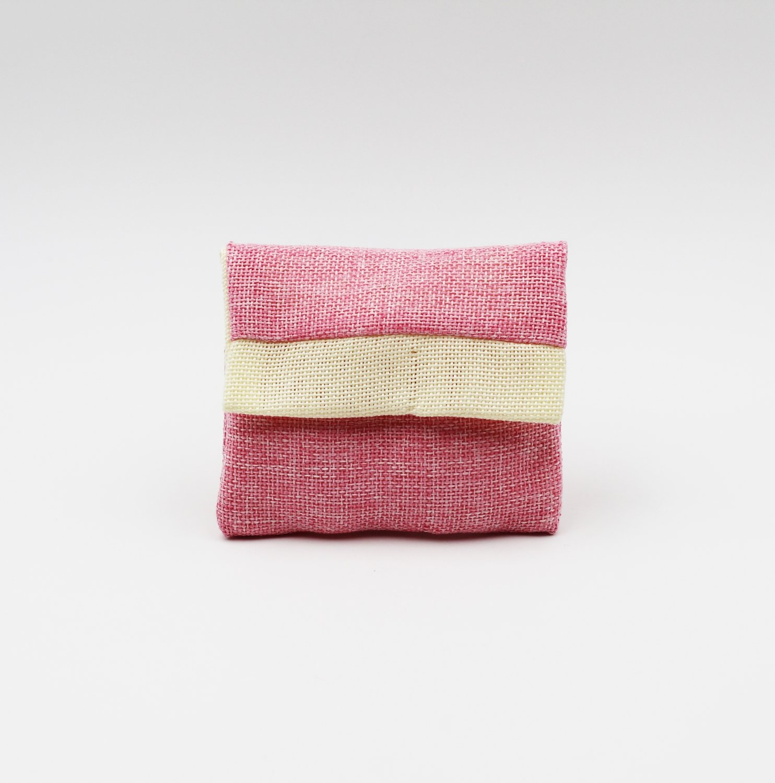 Busta yuta rosa e avorio Pz.10