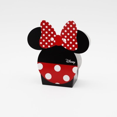 Scatola minnie e mickey red e black Pz.10