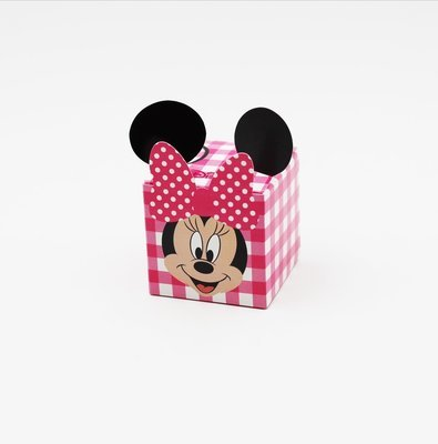 Cubo party minnie e mickey Pz.10