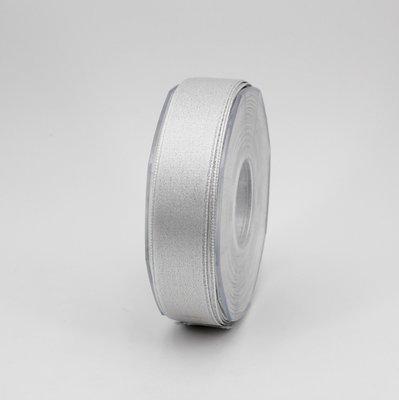 Furlanis nastro doppio raso lurex argento colore 101 mm.25 Mt.25