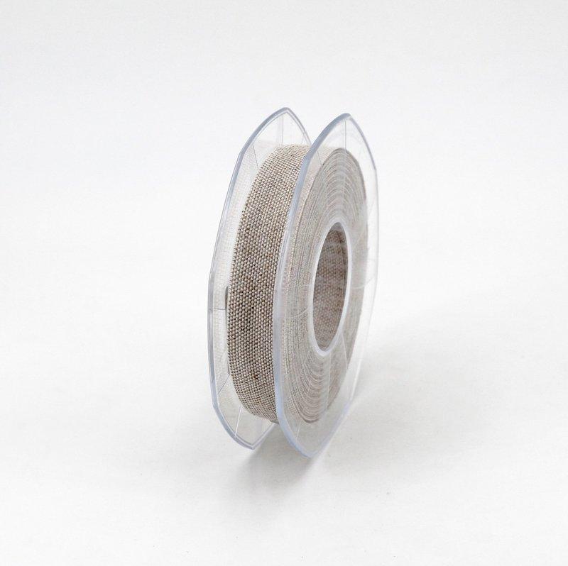 Nastro lino e canapa mm.15