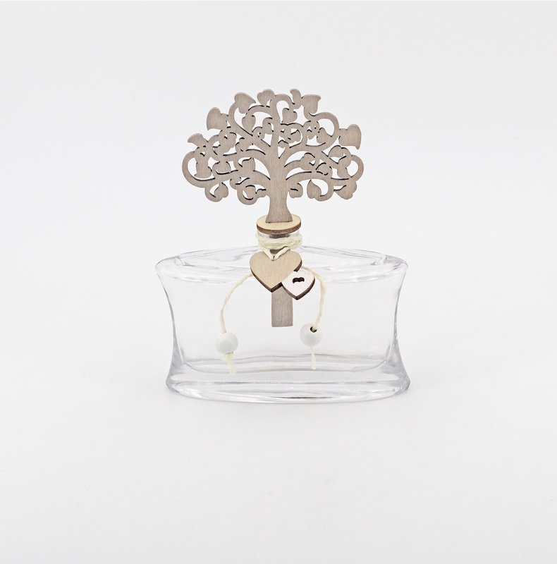 Bomboniera in vetro profumatore tree Pz.1