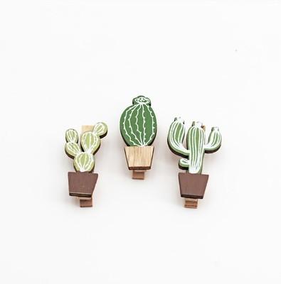 Set 6 mollette cactus Pz.1