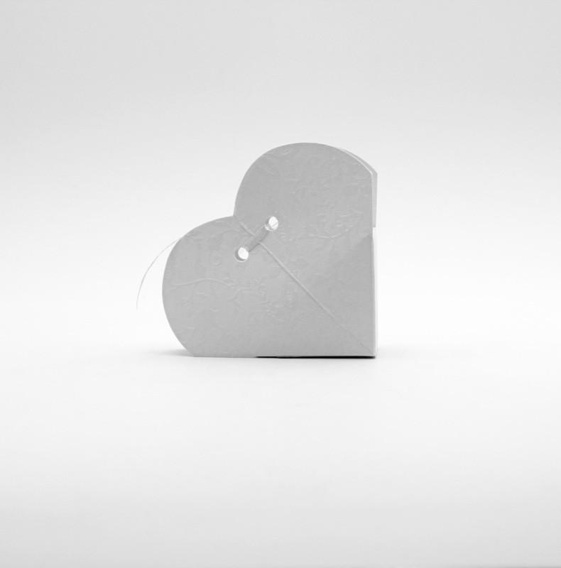 Cuore harmony bianco Pz.10