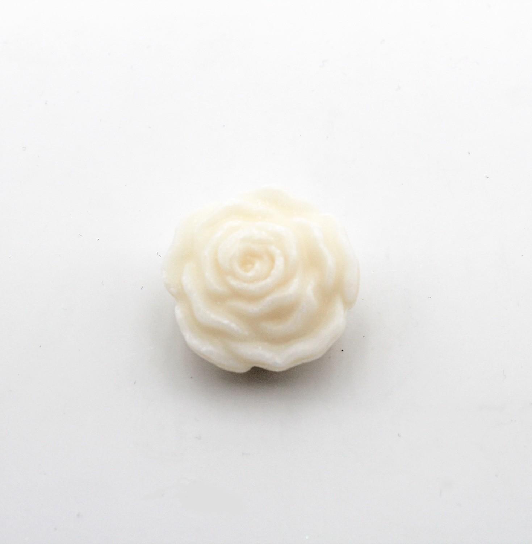 Saponetta piccola a forma di rosa Pz. 12