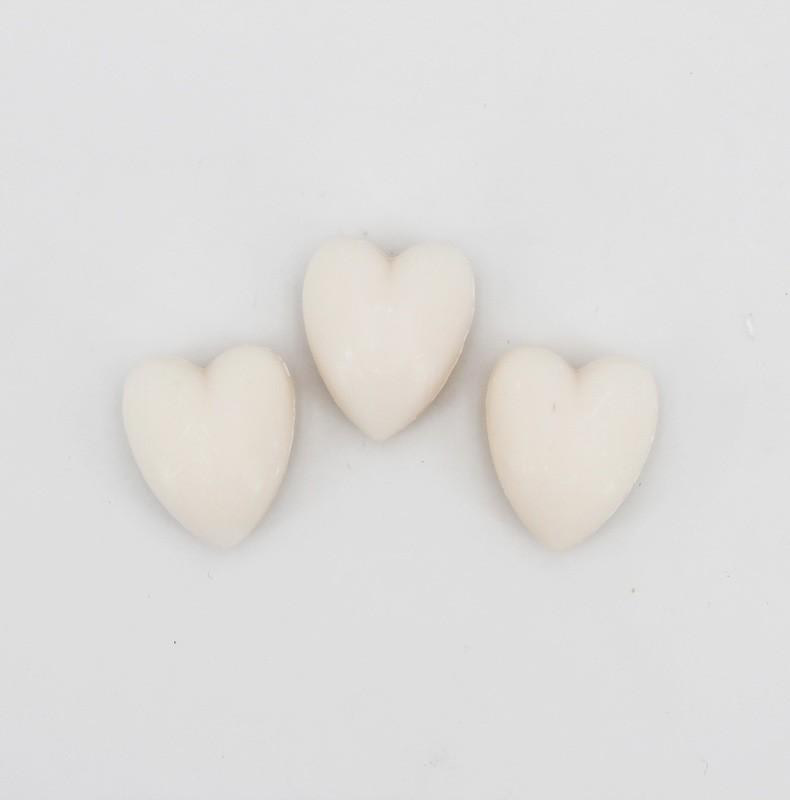 Saponetta piccola a forma di cuore Pz. 12