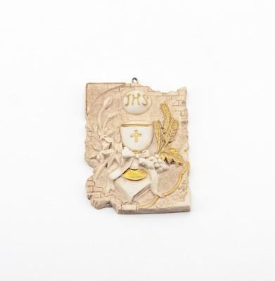 Bomboniera ceramica quadretto comunione Pz. 12