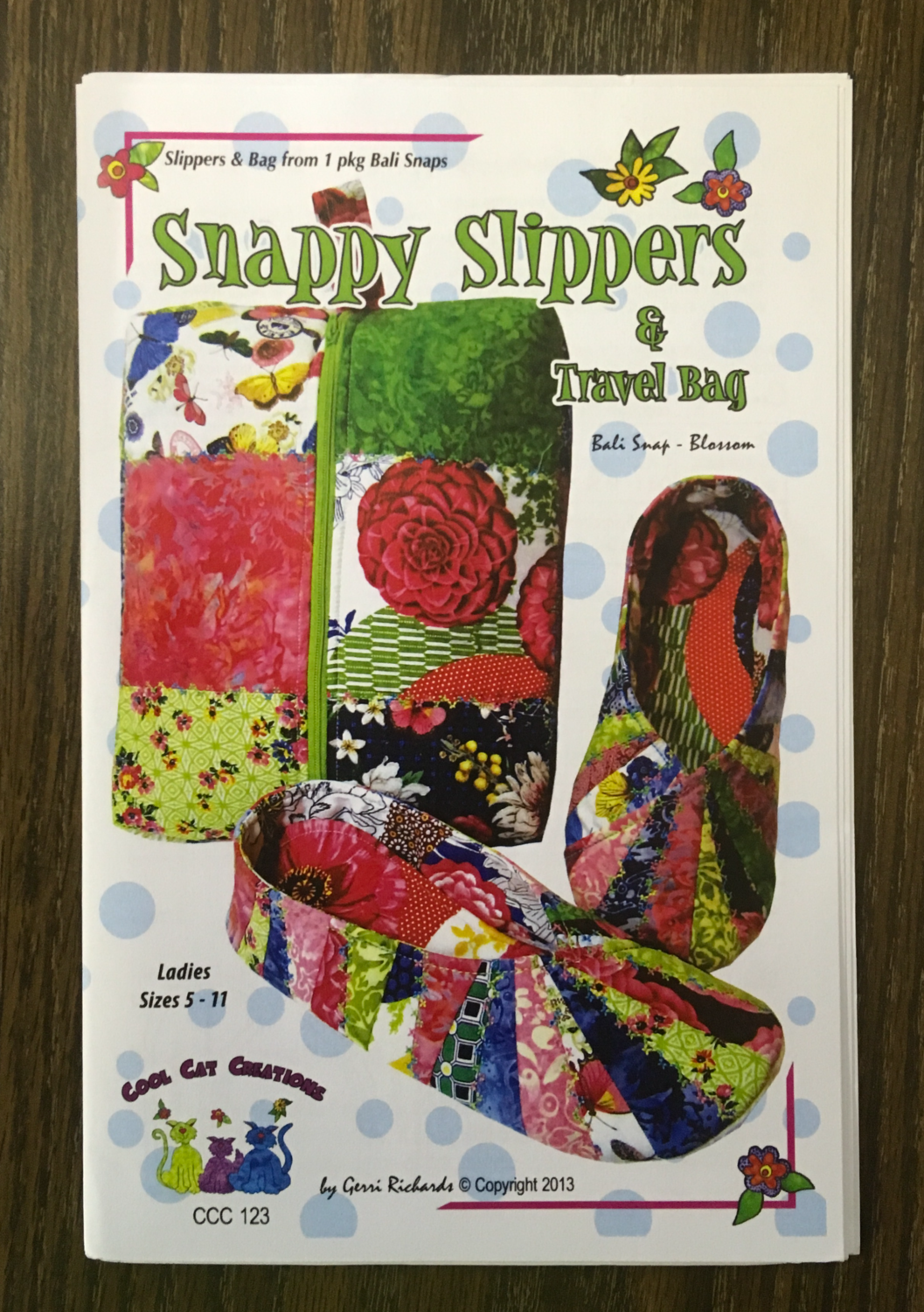 Snappy Slippers Pattern